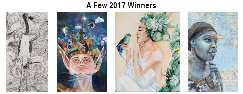Some 2017 Congressional Art Competition winners