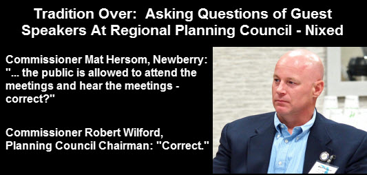 Lead Graphic: Photo of Matt Hersom, Newberry City Commissioner.