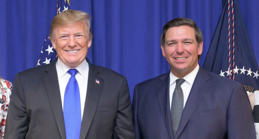 President Trump and Governor DeSantis